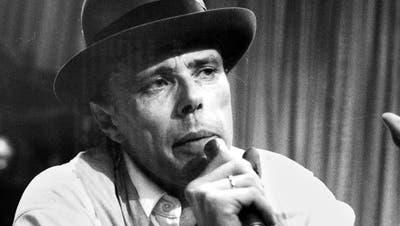 Noch heute fasziniert die Kunst von Beuys. etwa die «Honigpumpe», die er 1977 schuf. (Bild: DPA/Keystone)