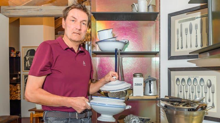 Restauranttester Daniel Bumann beendet seine zweite erfolgreiche Karriere. Auch in der Coronazeit testete Bumann weiter. (Giancarlo Cattaneo / fotoSwiss st.moritz)