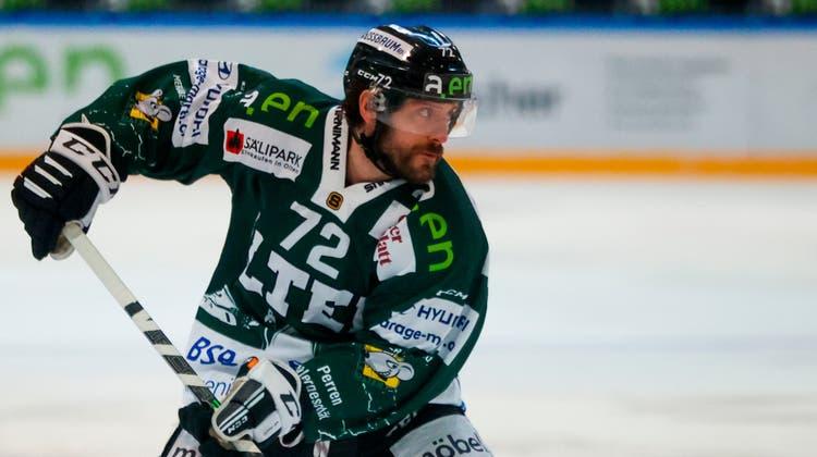 Diego Schwarzenbach verlässt den EHC Olten. (Marc Schumacher)