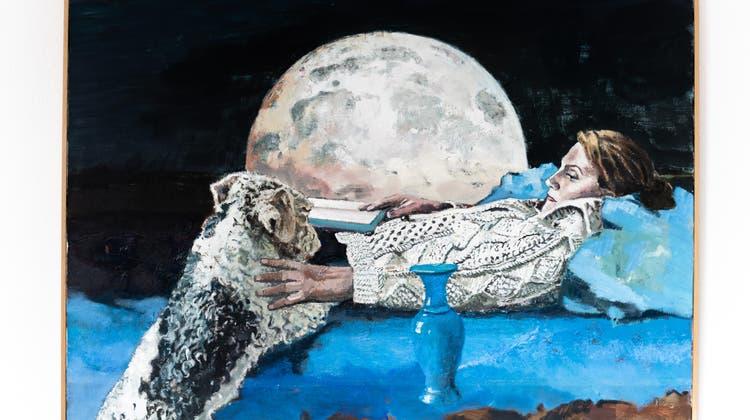 Das Werk «Ruth und Cosimo» von Marc-AntoineFehr. (Michel Lüthi)