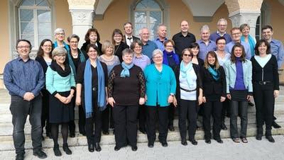 Der Chor Thurklang Bürglen zu seinen besseren Zeiten. Vor zwei Jahren hatte der Chor noch zahlreiche Mitglieder. (Bild: PD)