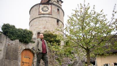Der Kapuzinerturm wurde 1525 fertiggestellt und ist Teil der Zuger Stadtmauer. (Bild: Daniel Frischherz)