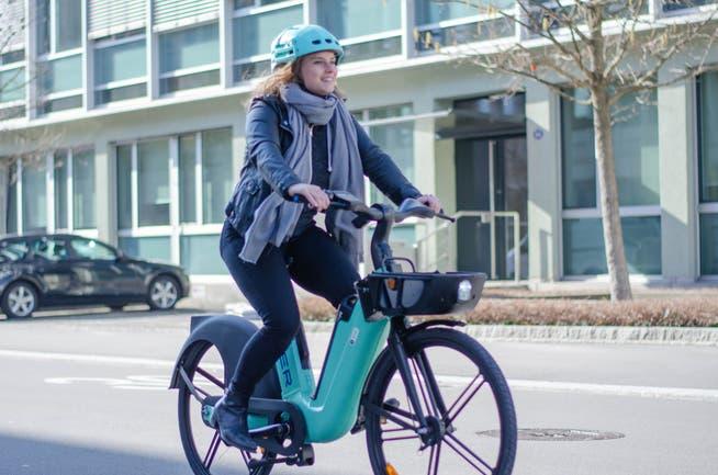 In der Stadt St.Gallen sollen künftig rund 200 E-Bikes fürs Selbstausleihen zur Verfügung stehen.