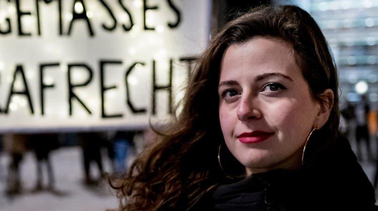 Morena Diaz fordert ein schärferes Sexualstrafrecht. (Kenneth Nars (Basel, 2.2.2021))