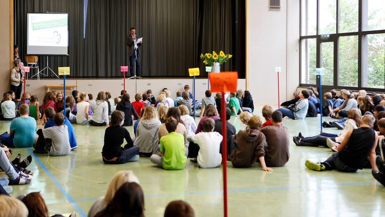 Schulstart in Schnottwil. (Felix Gerber / Archiv)