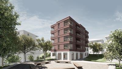 Ein geplanter Neubau der ABLan derStudhalde. (Bild: PD)