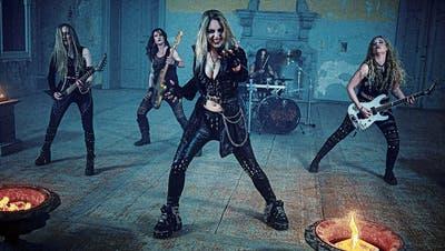 Pünktlich zur Walpurgisnacht: Der Videoclip zur neuen Single derMetal-Band Burning Witches erscheint