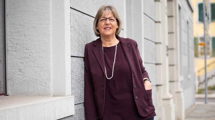 Marianne Aeschbacher hat 36 Jahre lang auf der Gemeindeverwaltung Reinach gearbeitet. Jetzt wird sie pensioniert. (Britta Gut)