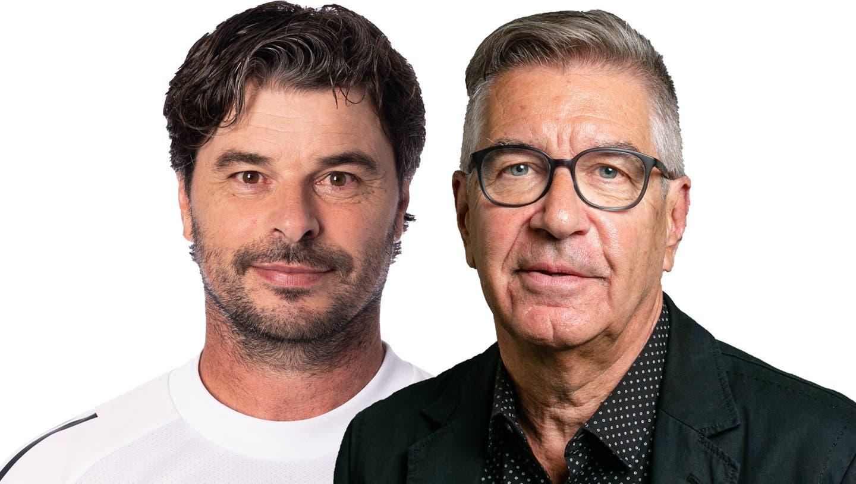 Ciriaco Sforza entschuldigt sich für ein Fehlverhalten, von dem FC-Basel-CEO Roland Heri behauptet, es sei gar nicht passiert. (Claudio Thoma / freshfocus)