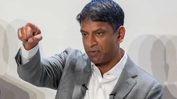 Novartis-CEOVas Narasimhan. (Keystone)