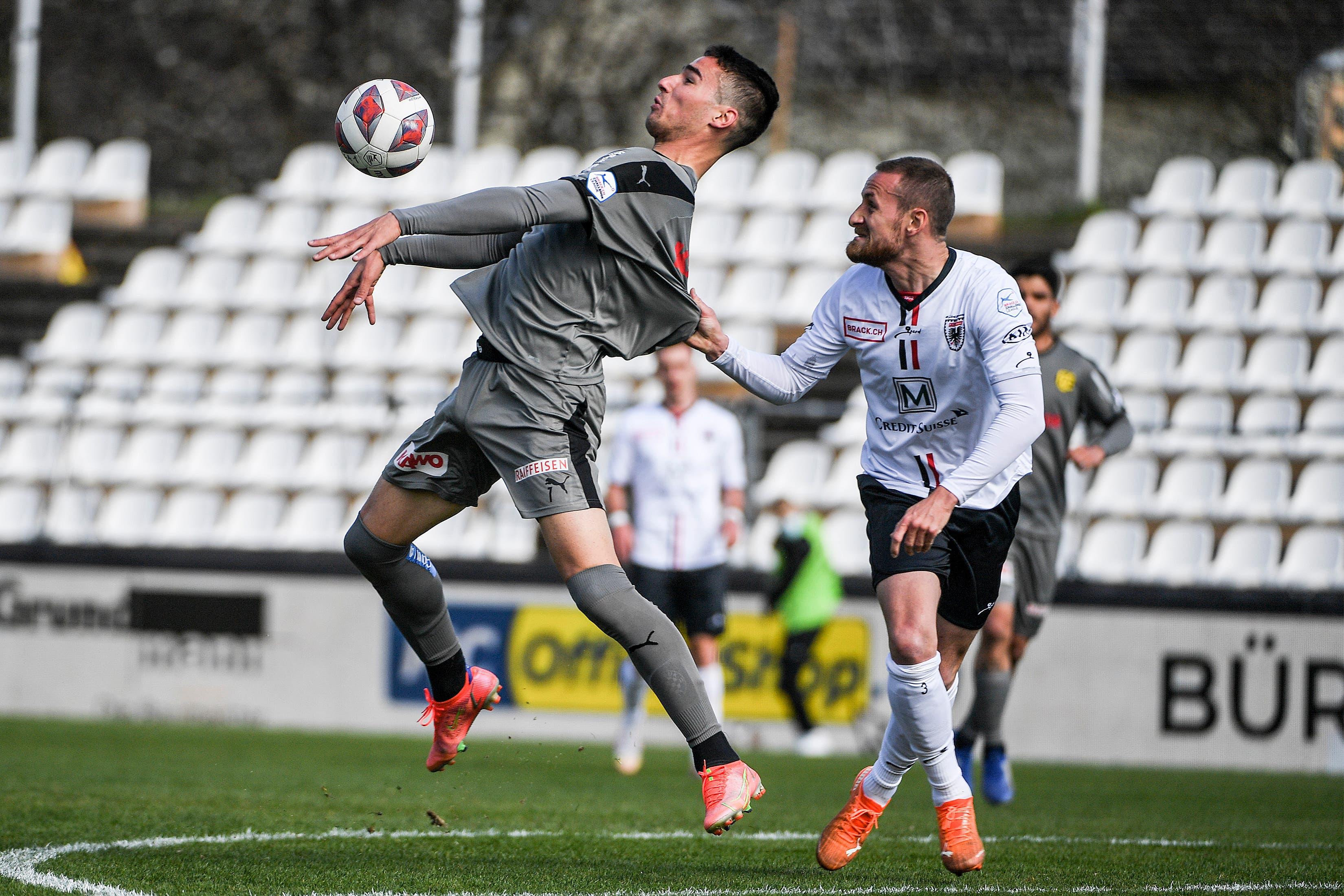 In der 27. Runde der Challenge-League empfängt der FC Aarau den FC Schaffhausen.