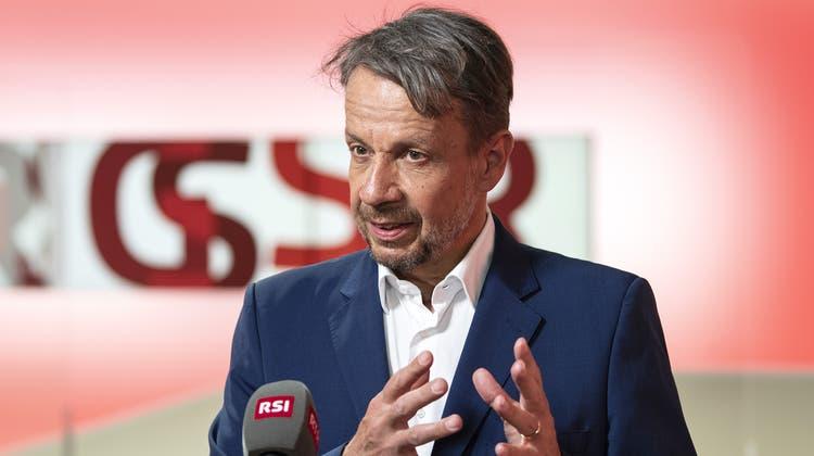 Gilles Marchand, Generaldirektor SRG (Peter Schneider / Keystone)