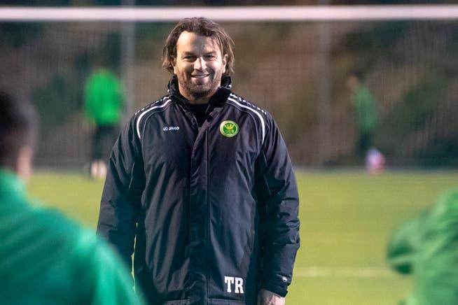 SC-Brühl-Trainer Heris Stefanachi kann mit der laufenden Saison der Promotion League bereits zufrieden sein.