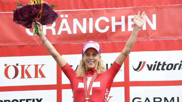 Die Schweizer Meisterin Jolanda Neff aus Thal. (Bild: Alexander Wagner (Gränichen, 26. Juli 2020))