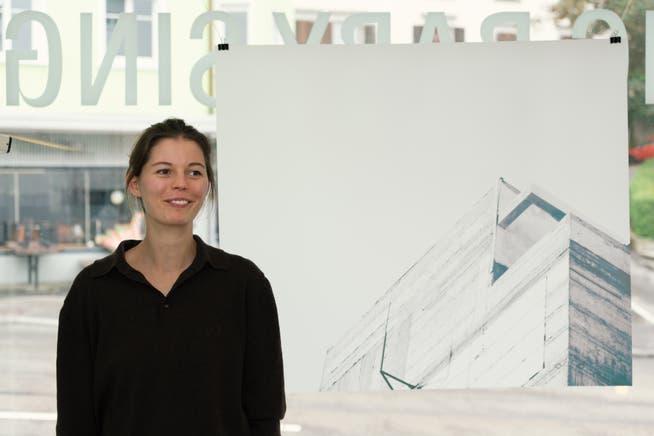 Die Kunsthistorikerin und Kuratorin Nina Keel präsentiert in ihrem neuen Kunstraum Installationen von vier Architektinnen.
