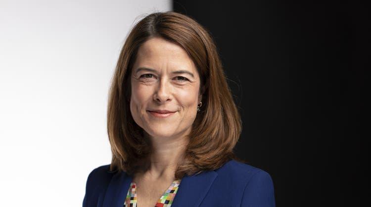 FDP-Parteipräsidentin Petra Gössi sieht sich beim CO2-Gesetz mit Gegenwind aus den eigenen Reihen konfrontiert. (Keystone)