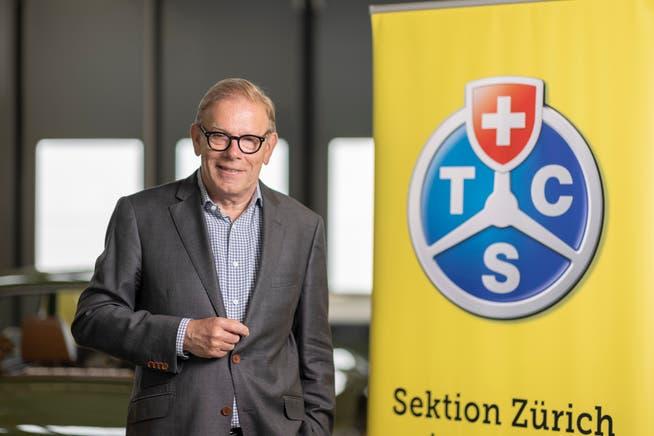 Reto Cavegn geht als Geschäftsführer der Sektion Zürich des TCS in den Ruhestand. Das Thema Mobilität wird ihn aber weiterhin beschäftigen.
