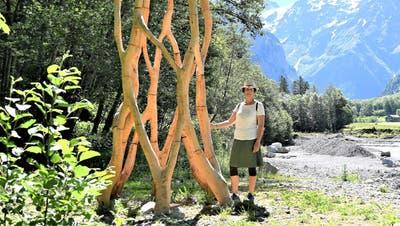 Kuratorin Claudia Häusler will diesen Sommer in Engelberg erneut aus Landschaft Kunst machen. (Bild: Romano Cuonz (Engelberg, 6. Juni 2019))