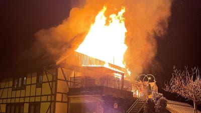 Brand verwüstet Mehrfamilienhaus – mehrere Haustiere sterben