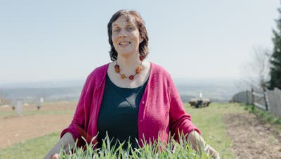 Rosmarie Zimmermann wurde das Thema Umwelt wichtig, als sie Bäuerin wurde. (Roy Matter)