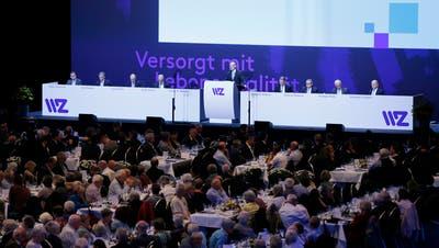 Generalversammlung WWZ im Jahr 2019. Damals war eine physische Durchführung möglich. (Bild: Stefan Kaiser, (Zug, 2. Mai 2019))