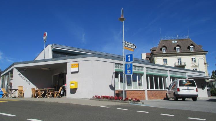 Mit der im Sommer erfolgenden Eröffnung eines Mercato-Ladengeschäfts im Bahnhofgebäude wird das Walzenhauser Dorfzentrum zusätzlich belebt und aufgewertet. (Bild: PE)