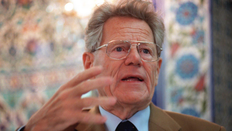 Der Schweizer Theologe Hans Küng (1928-2021). (Keystone)