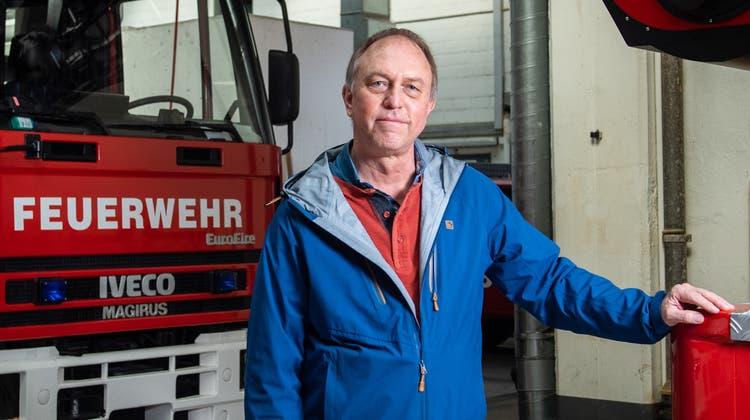 Fred Palm ist seit Oktober neuer Polizei- und Feuerwehr-Seelsorger. (Bild: Bilder: Boris Bürgisser (Luzern, 29. März 2021))