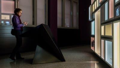 Kunst für Orchideen-Züchterinnen? Der Kunstraum Kreuzlingen zeigt Aquarelle der St. Galler Künstlerin Lika Nüssli. (Tobias Garcia)