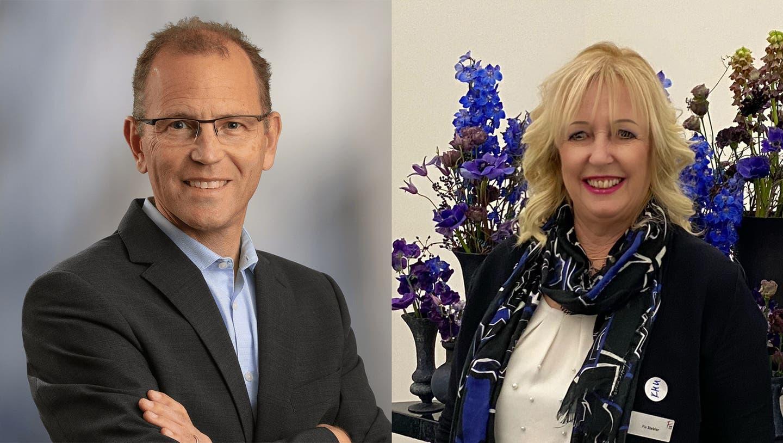 Reto Schoch und Pia Stebler sind am Präsidium interessiert. (zvg)