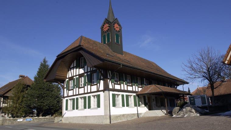 Im Gemeindehaus in Schnottwil tagt jeweils der Gemeinderat. (mt)
