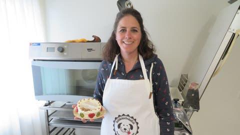 Die Widerin Marion Richterich hat die Hundebäckerei «Schläckschnäuzli» ins Leben gerufen. (Marc Ribolla)