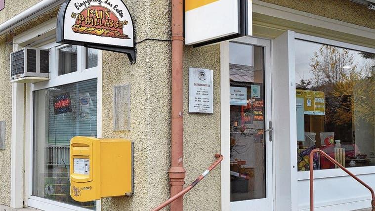 Noch ist offen, ob in der ehemaligen Bäckerei wieder die Post abgeht. (Bruno Kissling (Archiv))