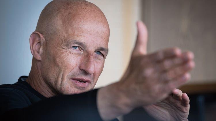 Über hitzige Spiele, Aufreger und Umfragen:FCSG-Trainer Peter Zeidler vor dem Cuphitgegen die Young Boys im grossen Interview