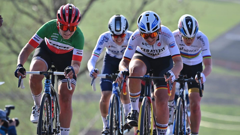 Bald auch in der Schweiz zu sehen? Spektakulärer Frauen-Radsport wie hier an der Flandern-Rundfahrt. (Imago (4.4.2021))