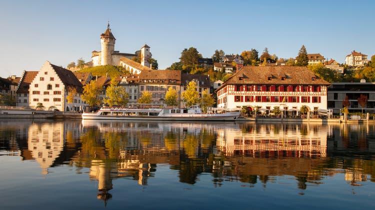 Die Schaffhauser Regierung – im Bild die Altstadt – muss seine Kantonsrechnung nach Kritik der Finanzkontrolle korrigieren. (Keystone)