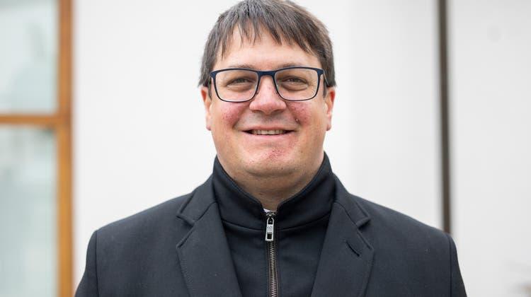 Aarauer Zirkuspfarrer Adrian Bolzern. Aufgenommen am 07. April 2021. (Britta Gut)