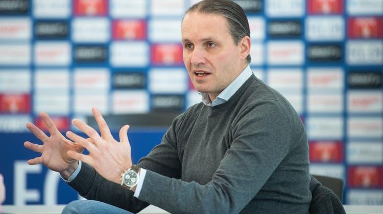 Remo Meyer, Sportchef des FC Luzern. (Bild: Boris Bürgisser (Luzern, 6. März 2020))