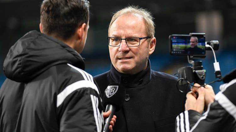 Jean-Paul Brigger im März 2018, noch in seiner Funktion als FCB-CEO. (Freshfocus)
