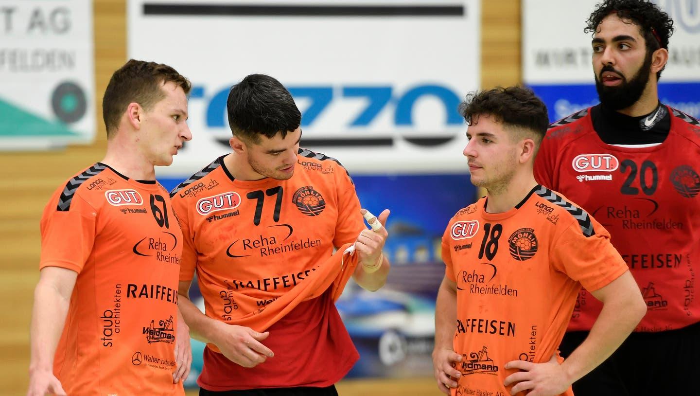 Die Handballer des TV Möhlin greifen erst am kommenden Mittwoch wieder ins Spielgeschehen in der Nationalliga B ein. (Alexander Wagner)