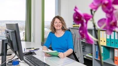Renate Trösch übernahm am 3. März die Leitung der Koordinationsstelle Alter Region Brugg. (Bild: Sandra Ardizzone)