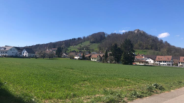 Grüner Fleck im Siedlungsgebiet: Geplant war, dass der «Mattacher» eingezont wird. (Anja Suter / Aargauer Zeitung)