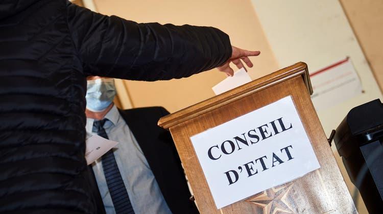 Bei den Wahlen im Kanton Wallis gab es doch keinen Wahlbetrug. (Keystone)