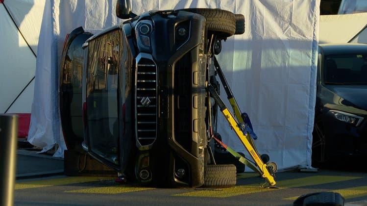 Autofahrer stirbt nach Kollision am Bellevue