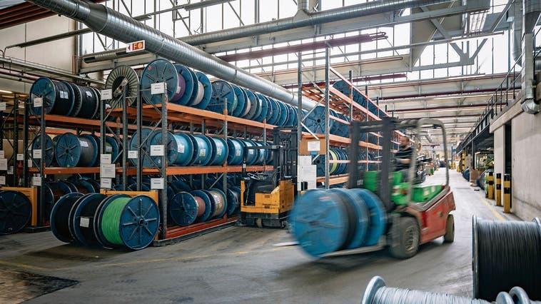Das Däniker Unternehmen Studer Cables AG mit rund 400 Mitarbeitenden ist technologisch führend in der Herstellung sicherer und leichter Kabel. (zVg)