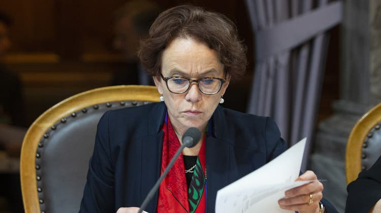Ständerätin Eva Herzog möchte, dass das«Basler Konzept» umgesetzt wird. (Peter Klaunzer / 18.12.2019 KEYSTONE)