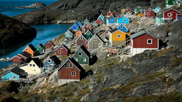 Malerisches Dörfchen auf Grönland: Die Insel ist auch wegen ihrer Rohstoffe bei den Grossmächten begehrt. (Mads Pihl)