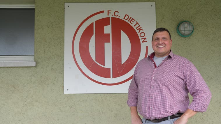 Renato Casanova, seit 2018 Vereinspräsident des FC Dietikon. (Michel Sutter)