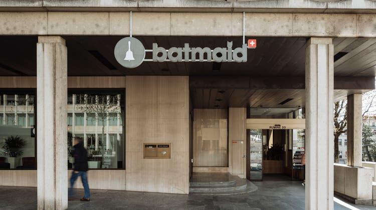 Hauptsitz des Reinigungsvermittlers Batmaid in Lausanne VD. (zvg)