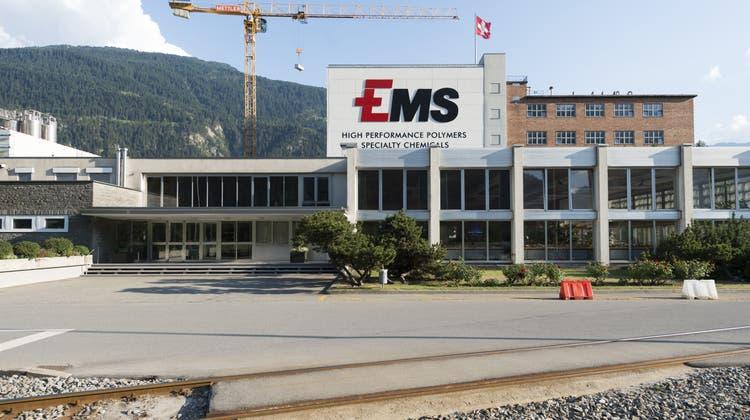 Die Ems-Gruppe ist wieder auf den Wachstumspfad zurückgekehrt. (Archivbild) (Keystone)